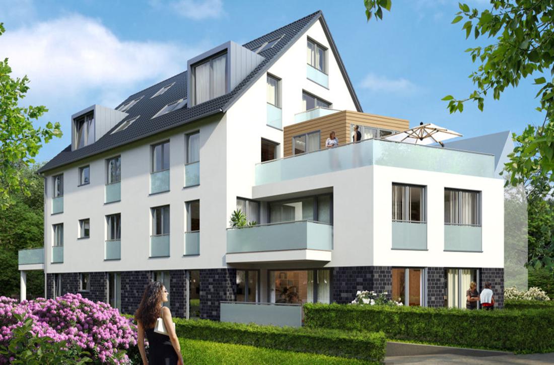 Neubauprojekt b cker wohnimmobilien gmbh d sseldorf duisburg for Wohnung mieten ratingen